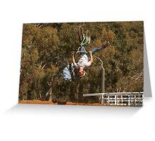 BMX Stunt Greeting Card