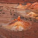Sunset - Painted Hills - Anna Creek Station - South Australia by Jeff Catford
