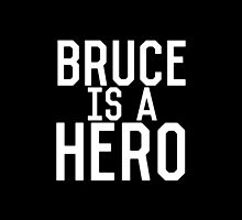 Bruce Is A Hero by Zachary Williams
