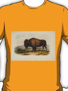 James Audubon - Quadrupeds of North America V2 1851-1854  American Bison or Buffalo 1 T-Shirt