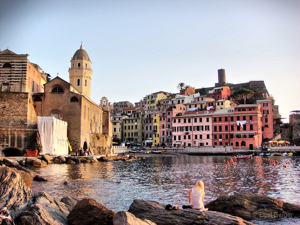 Vernazza by Eyal Geiger