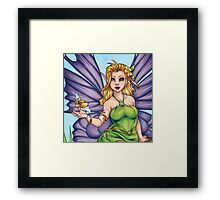 Woodland Fairy Friend  Framed Print