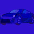 Blue Car by masabo