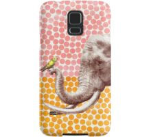 New Friends - Elephant & Bird Samsung Galaxy Case/Skin