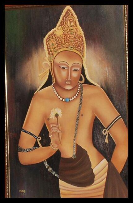 Padmapani by usharai