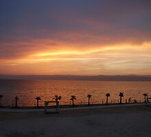 The Dead Sea Sunset, Jordan by aceluke