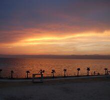 The Dead Sea Sunset, Jordan by aceluke
