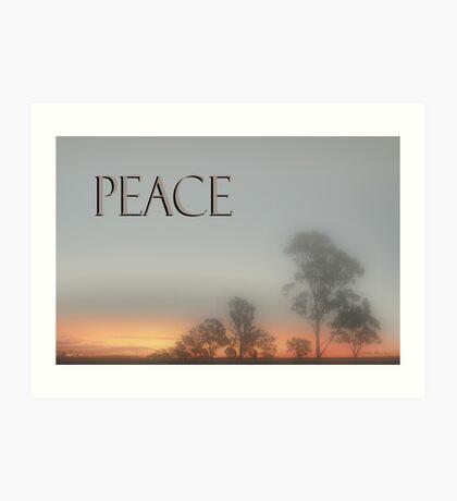 Peace © Vicki Ferrari Photography Art Print