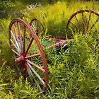 Wagon Wheels A by Mark Peduzie