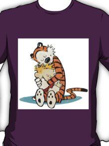 Calvi and hobbes Hugs T-Shirt