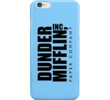 Dunder Mifflin Inc. iPhone Case/Skin