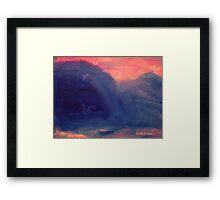 Impressions - Mountain No.1 Framed Print
