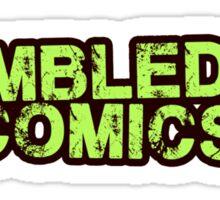 Tumble Dry Comics Sticker