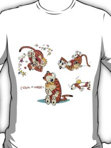 Calvin and Hobbes all Lovly T-Shirt
