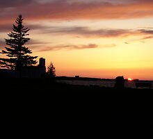 Sunset At Sunset Point by Temagami
