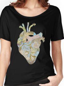 A Traveler's Heart (N.T.) Women's Relaxed Fit T-Shirt