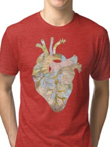 A Traveler's Heart (N.T.) Tri-blend T-Shirt