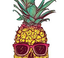Cool Pineapple T-Shirt by FelixxGhost
