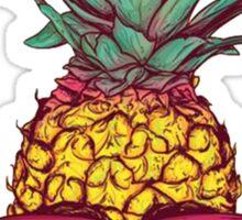 Cool Pineapple T-Shirt Sticker