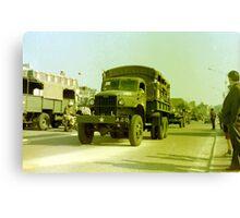 GMC 6x6 Truck Canvas Print