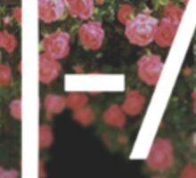 twenty one roses - twenty one pilots - tøp Sticker