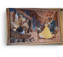 Disney Beauty and the Beast Characters Disney Belle Princesses Canvas Print