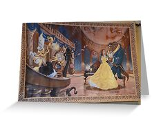 Disney Beauty and the Beast Characters Disney Belle Princesses Greeting Card