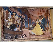 Disney Beauty and the Beast Characters Disney Belle Princesses Photographic Print