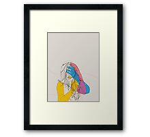 Primary Self Portrait Framed Print