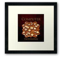 Computer Professional Framed Print