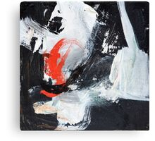 Black White and Red I Canvas Print