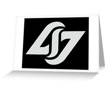 Counte Logic Gaming Logo Greeting Card