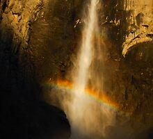 Bridal Veil Falls, Yosemite N.P. CA by Thomas Peter