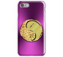 Sagittarius & Dragon Yang Metal iPhone Case/Skin