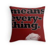Love Means Everything Throw Pillow