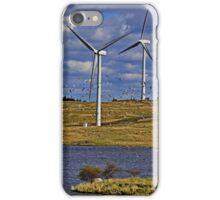Wind Turbine Landscape  iPhone Case/Skin