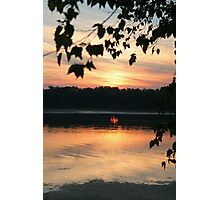 Mississippi sunset Photographic Print