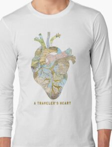 A Traveler's Heart Long Sleeve T-Shirt