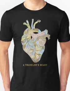A Traveler's Heart Unisex T-Shirt