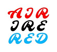 Air Ire Red Photographic Print