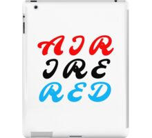 Air Ire Red iPad Case/Skin