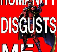 Magneto - Humanity Disgusts Me by SquallAndSeifer