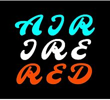 Air Ire Red – Two Photographic Print
