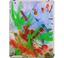 Christmas Holly 037 iPad Case/Skin