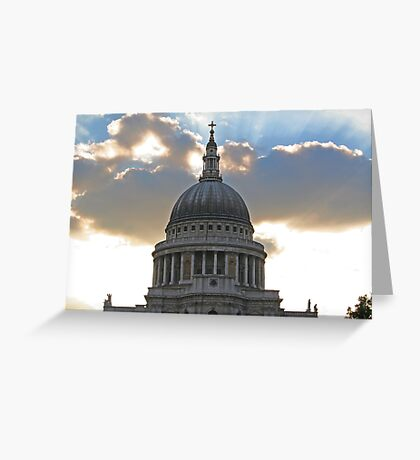 The power and the glory II Greeting Card