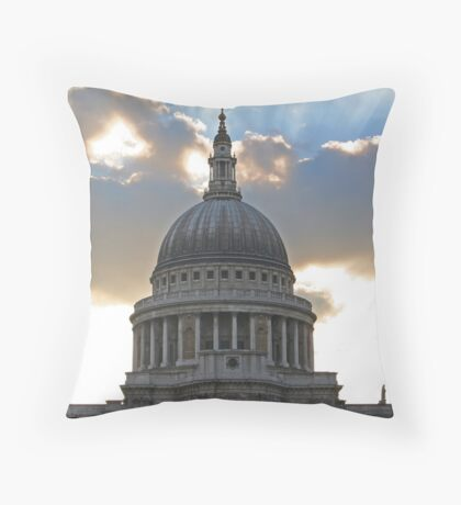 The power and the glory II Throw Pillow