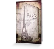 An American in Paris Greeting Card