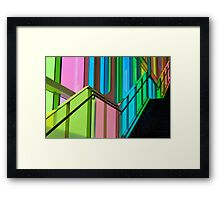 Candy Coloured Palace Framed Print