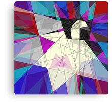 Paper Swan Canvas Print