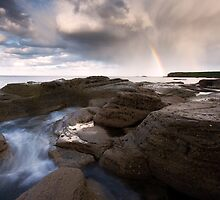 RAINBOWS AND ROCKS by STEVE  BOOTE
